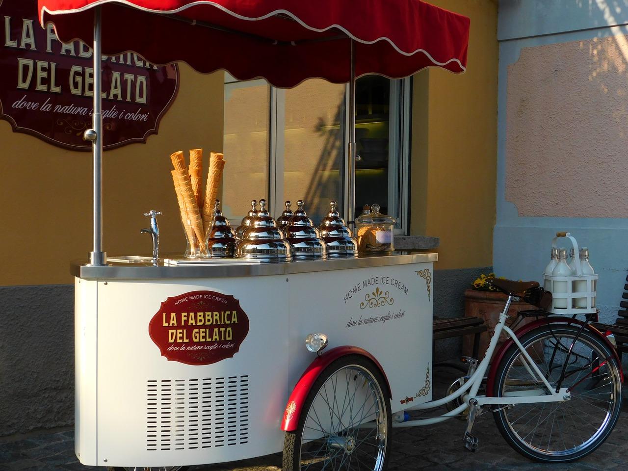 Cambiare lavoro: perché non aprire una gelateria?