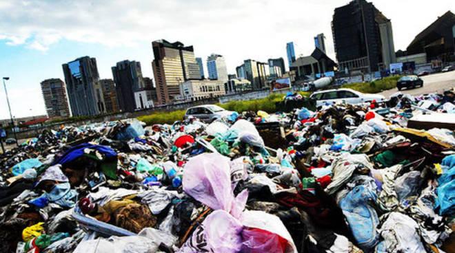 L'isola di rifiuti