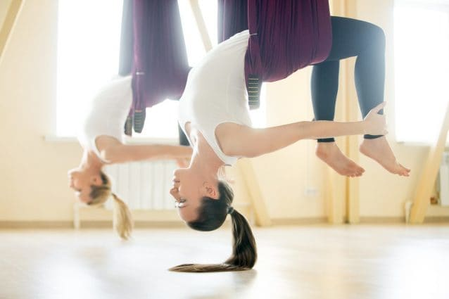 Allenamento senza gravità: come restare in forma stando sospesi per aria